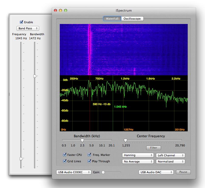 iSpectrum - Mac Audio Spectrum Analyzer